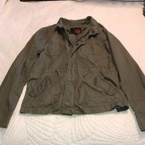 Green utility jacket G by Guess